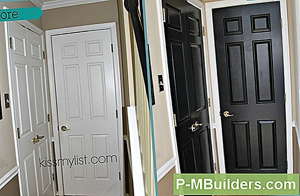 How To Paint Wood Front Doors