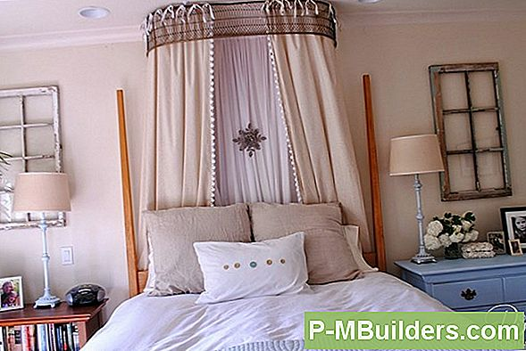 How To A Canopy Bed Net