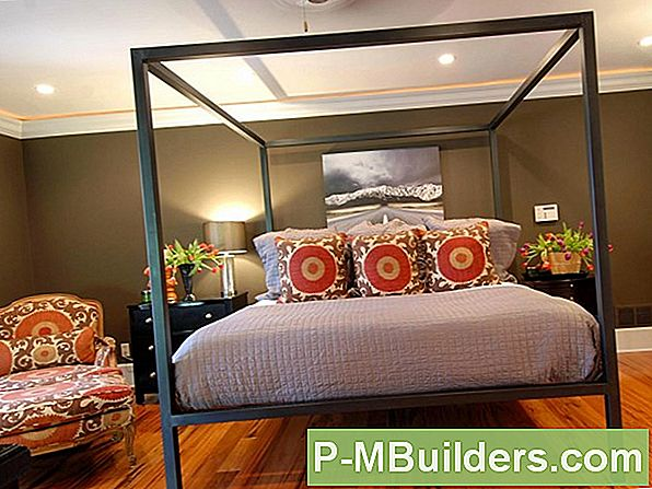 How To A Bed Canopy Von Vaulted Ceilings