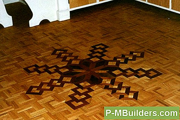 Water Damaged Parquet Flooring