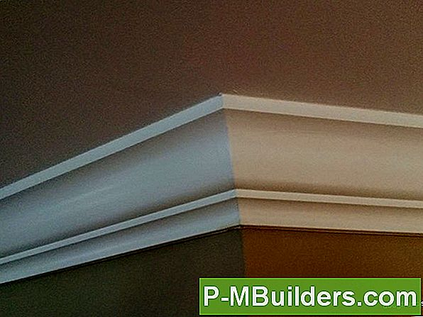 Mdf Crown Moulding Installatie