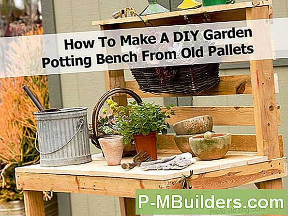 Diy Garden Potting Bench Tips