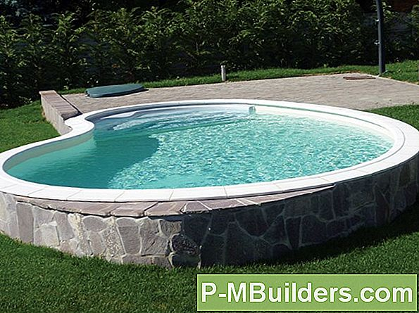 Kreative Oberirdische Pool Deck Designs