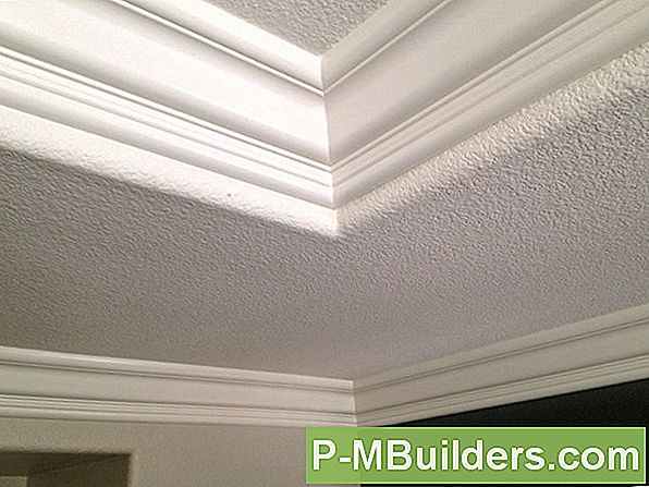 Tray Ceiling Crown Moulding Installation