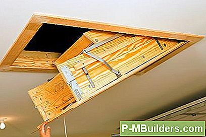 Sådan Installeres Pull Down Attic Stairs