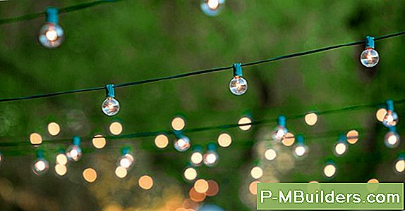 Patio String Lights: Installation Tips