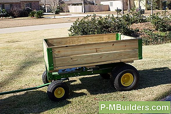 Build A Riding Mower Trailer