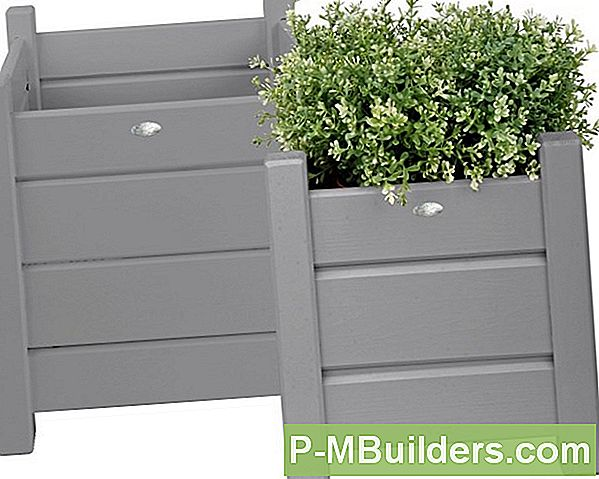 Paint To Wooden Planters