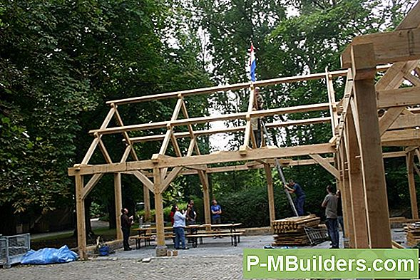 Gebouw A Timber Frame House: The Basics