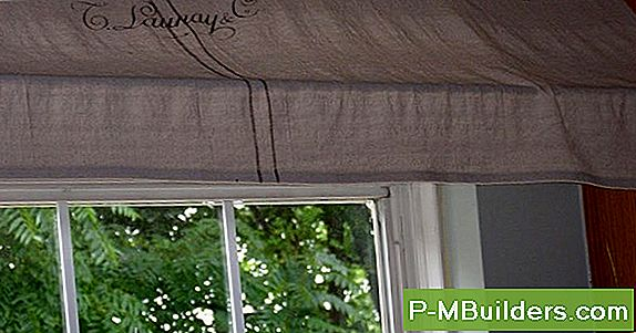 Diy Rod Pocket Awning Roman Shades