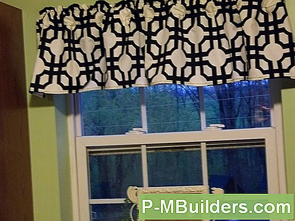 How To Hem Window Valances