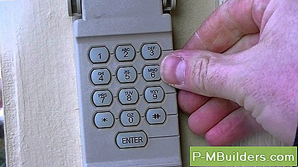 Reprogram A Garage Door Keyless Entry Pad