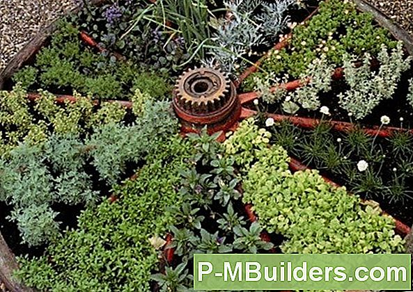 Herb Garden Design: Wagon Wheel Design