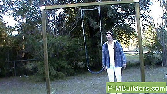 How To Make A Wooden Swing Set