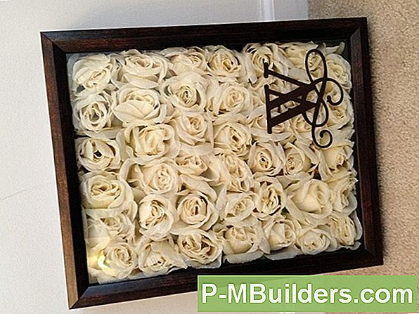 How To Make A Wedding Shadow Box