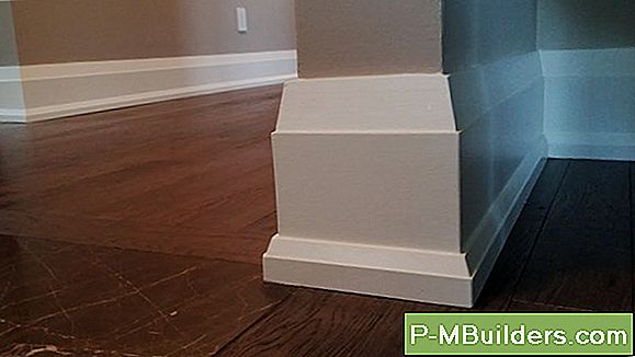How To Stain Baseboard Moulding