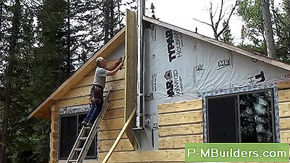 Log Siding Installationsanleitung