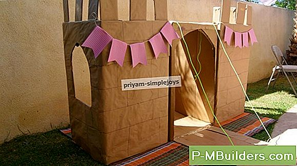 Hoe Maak Je Een Kids Playhouse Out Of Cardboard