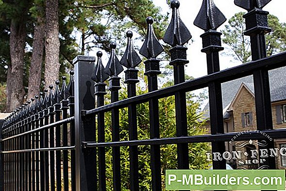 Metal Fence Finials