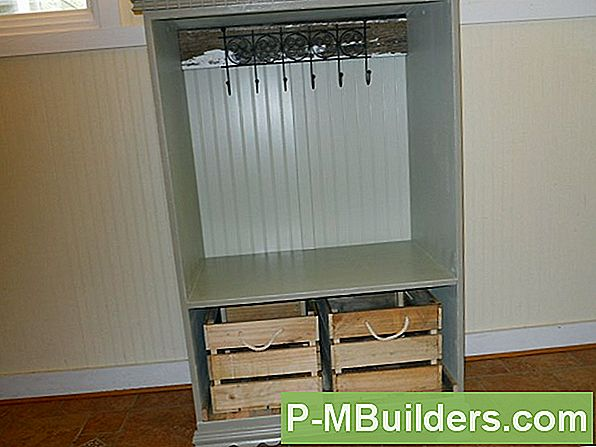 Mudroom Cubbies In De Muur Installeren