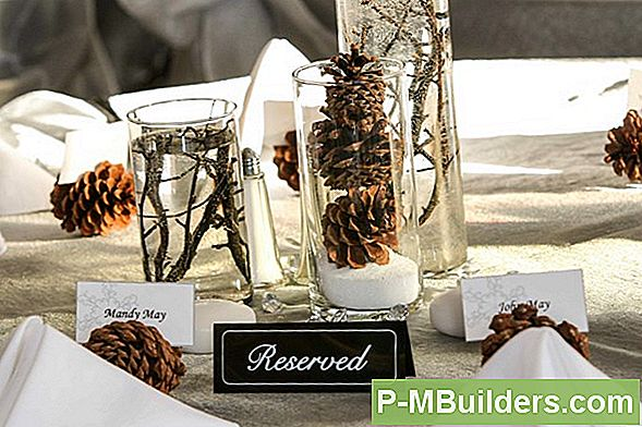 Winter Wedding Table Decorations Om Jezelf Te Maken