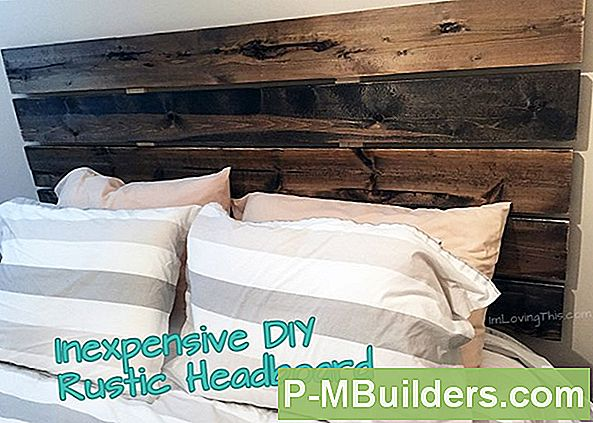 How To Make A Pine Headboard