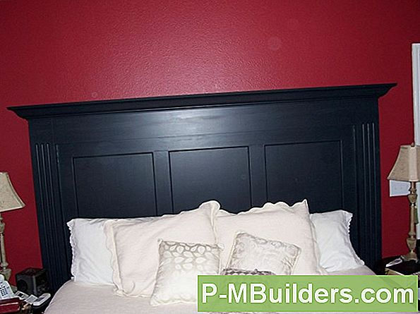 How To Paint Wood Headboards