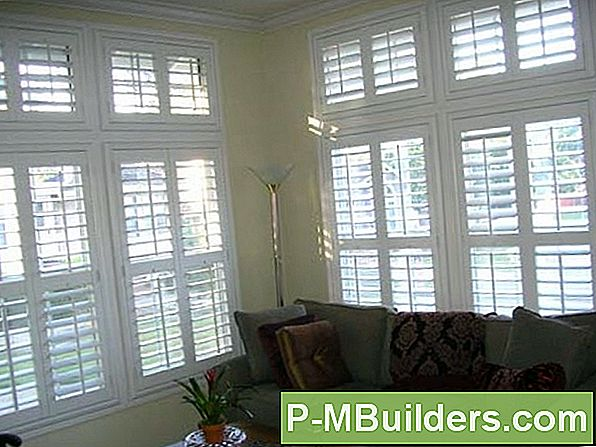 How To Remove Plantation Shutters