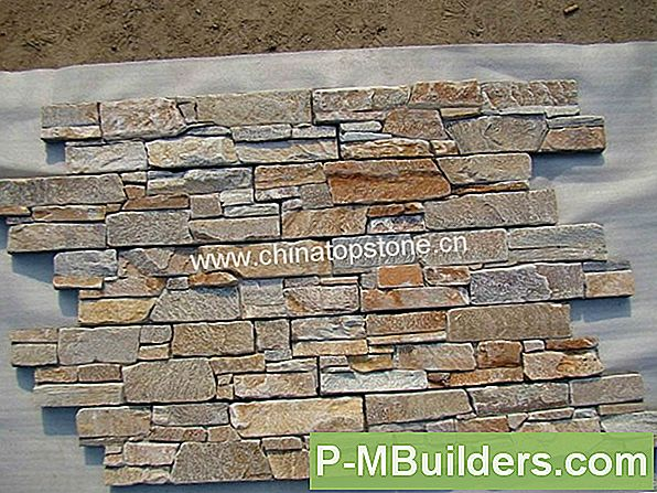 Diy Stacked Stone Cladding