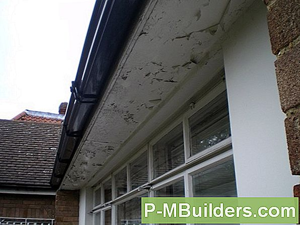 Paint Roof Eaves