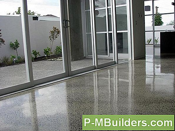Polishing Concrete Patios