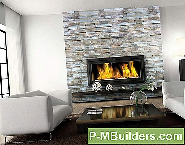 6 Modern Wood & Stone Fireplace Mantel Designs