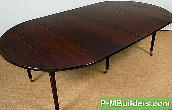 Kuidas Teha Drop Leaf Kandiline Table Top