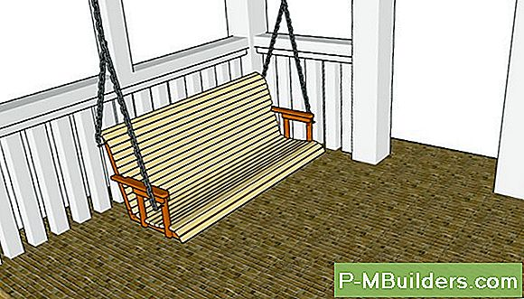 How To Build A Log Veranda Swing