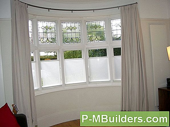 How To Hang Bow Window Vorhänge