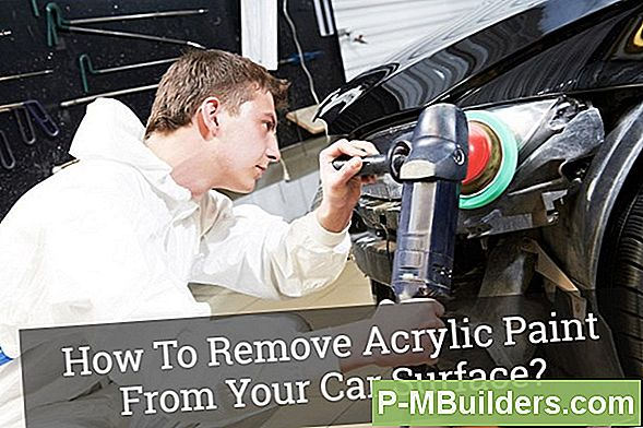 How To Remove Acrylic Paint