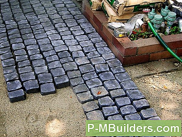 How To Lay Block Für Brick Facing