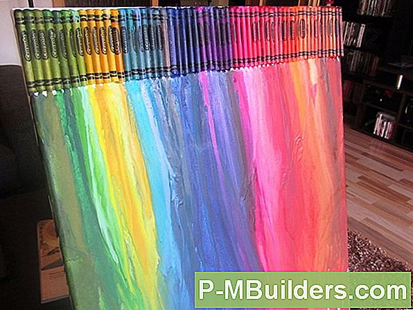 Entfernen Crayon Stains Aus Holz