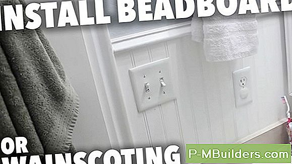 How To Install Beadboard Verkleidung