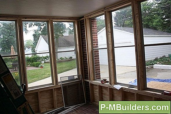 Triple Track Storm Window Reparatie Tips
