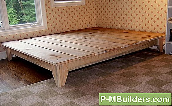 Diy King Platform Bed Frame Construction