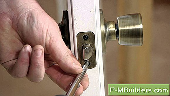 French Door Lock Installation