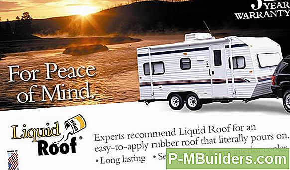 Recoating Rv Roof