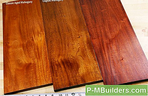 Finish Mahogany Wood