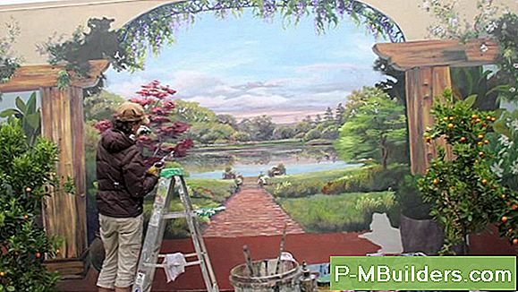 Painting A Wall Mural In Your Backyard: 4 Outdoor Painting Techniques