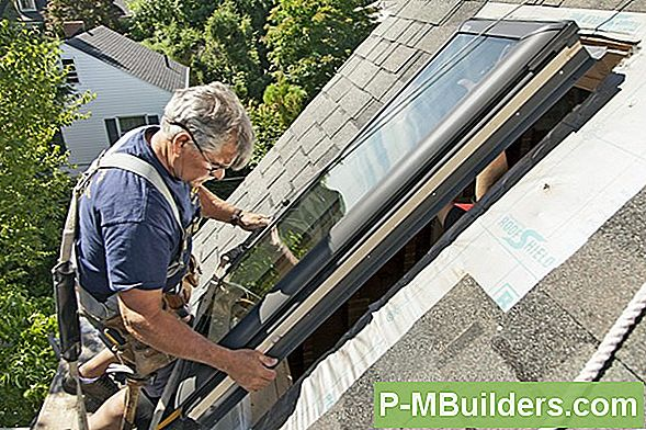 Installera Skylight 5 - Bygga En Curb