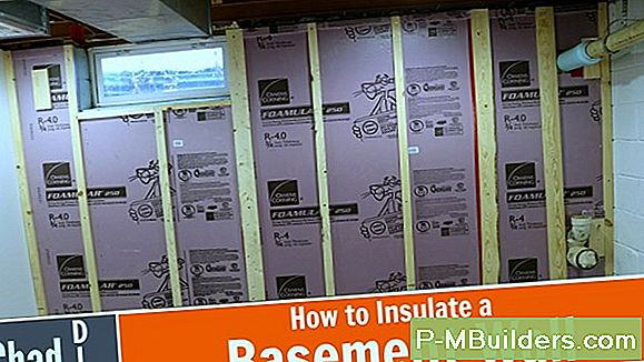 Diy Basement Insulation Installatie